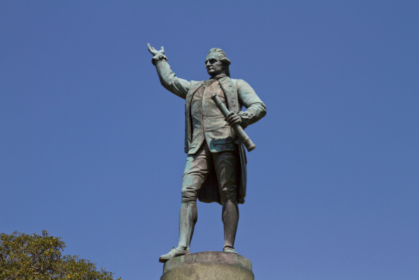 Captain Cook continues to inspire travel habits — Shutterstock