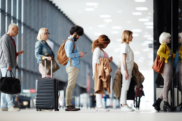 Become a savvy traveller with airport hacks from Kiwi.com — Shutterstock