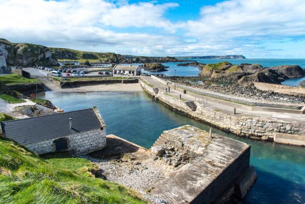 ballintoy harbour 2019's Blockbuster Getaways — Shutterstock
