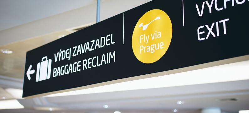 Fly via Prague transfer Kiwi.com