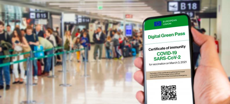 EU Digital COVID Certificate Kiwi.com